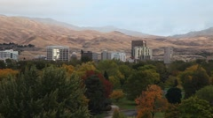 Boise Fall Morning 2 Stock Footage