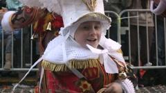 Stock Video Footage of Binche carnival