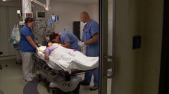 Medical Team Male Patient 3 - stock footage