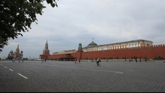 Red Square Moscow early morning Stock Footage