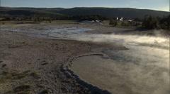 Geothermal Steam 3 Stock Footage