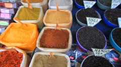 Spices of India Stock Footage