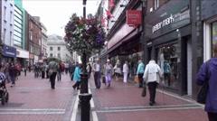 Dublin City 3 Stock Footage