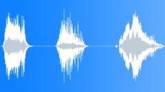 Mutant monster roaring Sound Effect
