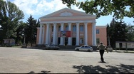 Stock Video Footage of Russian Town Hall