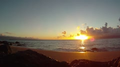 Maui Sunset 02 Stock Footage