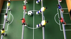 Table soccer Stock Footage
