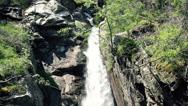 Stock Video Footage of Beautiful waterfall HD