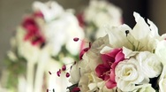 Beautiful bouquet of flowers Stock Footage