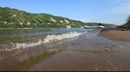 River Volga shore Stock Footage