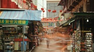 Stock Video Footage of China Town Singapore
