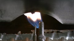 Combustion - stock footage