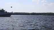 River Volga Cruiser Stock Footage