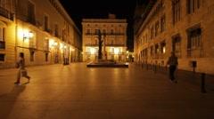 Valencia Generalitat Stock Footage