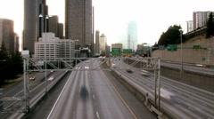 Seattle freeway Stock Footage