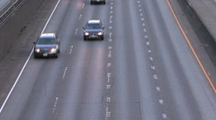 Incoming traffic Stock Footage