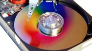 Stock Video Footage of Hard Disk Drive