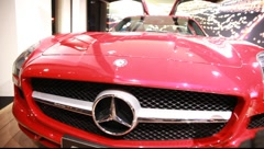 Mercedes SLS AMG - stock footage