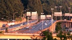 Far freeway Stock Footage
