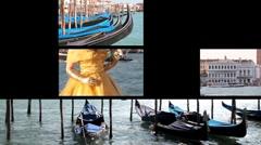 Venice city Stock Footage