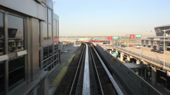 JFK Airtrain Stock Footage