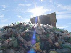 Recycling. PET bottles. Stock Footage