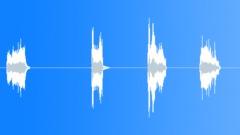 Medium dirt slides - sound effect