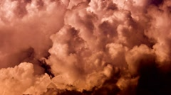 Danger clouds Stock Footage