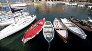 Italy - Lake Garda - Port Stock Footage