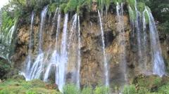 Waterfalls at Croatia 2 Stock Footage