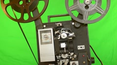 16mm Film Projector Stock Footage