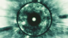 eye horror - stock footage