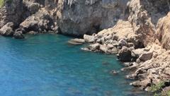 Seacoast, Antalya, Turkey - stock footage