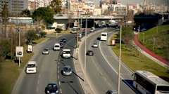 Traffic TimeLapse 02 FULL HD - stock footage