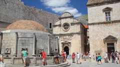 Old City of Dubrovnik, Croatia - stock footage