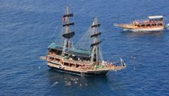 Voyage - stock footage