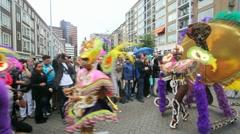 Rotterdam Carnival Stock Footage