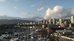 Vancouver Scenery01 - stock footage