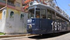 Tram in Antalya, Turkey Stock Footage