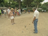Stock Video Footage of Playing Boules