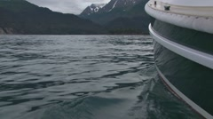Alongside Boat 1 Stock Footage