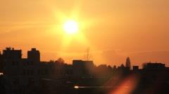 Sunset01 - stock footage
