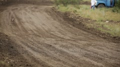 Racing off road Stock Footage