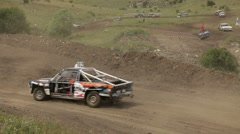 Sports race Stock Footage