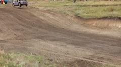 Trampoline Track Stock Footage