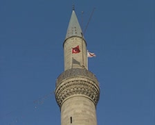 Minaret of the Selimiye Mosque Stock Footage