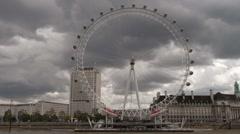 London Eye - stock footage