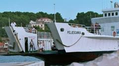 Makarska. Croatia Stock Footage