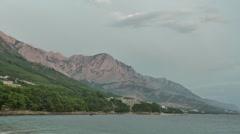Brela. Croatia Stock Footage