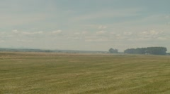 Aircraft, Sukhoi 26 aerobatic planes landing Stock Footage